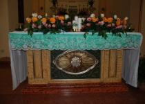 Particolare dell'altare nella Chiesa Madre di Sant'Arcangelo