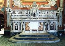 Particolare Altare Maggiore  Monastero Santa Maria d'Orsoleo